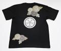 和柄Tシャツ「菊と桜」