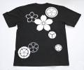 和柄Tシャツ「桜づくし」