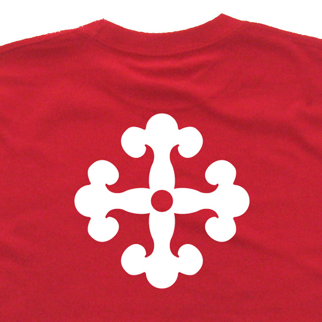 戦国武将家紋Tシャツ「小西行長」