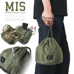 MIS エムアイエス MIS-1023 米軍実物生地使用 パーソナルエフェクツバッグ / ポーチ MADE IN USA【Sx】