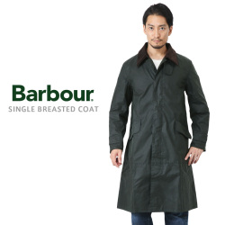 Barbour バブアー MWX1358 SINGLE BREASTED コート