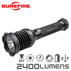 SUREFIRE シュアファイア UDR DOMINATOR Rechargeable Ultra-High Variable-Output LED フラッシュライト / 2400ルーメン【キャンペーン対象外】 懐中電灯 防災用品
