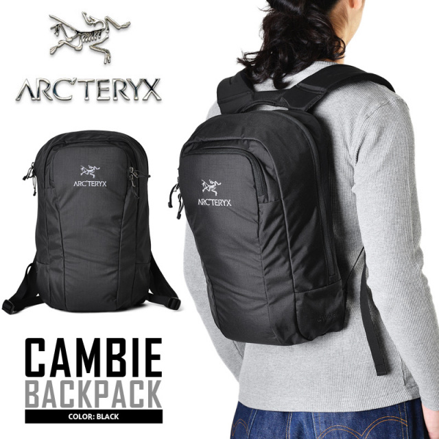 06f14c81b4b4 ARC'TERYX アークテリクス CAMBIE バックパック BLACK バンクー リュック