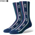 【メーカー取次】STANCE スタンス ACADIA ソックス NAVY M556A19ACA#NVY 靴下