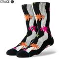 【メーカー取次】STANCE スタンス DUNIEZ ソックス BLACK M556A19DUN#BLK 靴下