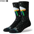 【メーカー取次】STANCE スタンス I NEED SOME SPACE ソックス BLACK M556A19INS#BLK 靴下