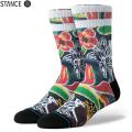 【メーカー取次】STANCE スタンス SINHARAJA ソックス BLACK M556A19SIN#BLK 靴下