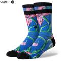 【メーカー取次】STANCE スタンス WAIPOUA ソックス BLUE M556A19WAI#BLU 靴下