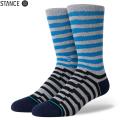 【メーカー取次】STANCE スタンス BREAKDOWN CREW ソックス BLUE M556A20BRC#BLU 靴下