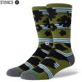 【メーカー取次】STANCE スタンス BERNER ソックス GREEN M558A20BER#GRN 靴下