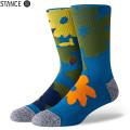 【メーカー取次】STANCE スタンス NEW TOURソックス BLUE M558A20NEW#BLU 靴下