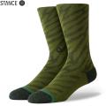 【メーカー取次】STANCE スタンス ELDRICK ソックス OLIVE M566A20ELD#OLV 靴下