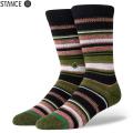 【メーカー取次】STANCE スタンス ERNESTO ソックス OLIVE M566A20ERN#OLV 靴下