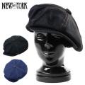 New York Hat ニューヨークハット 6291 デニムステッチ ビッグアップル