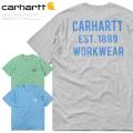 ★今ならカートで15%OFF割引★Carhartt カーハート CRHTT104176 S/S ヘビーウエイト グラフィック ポケットTシャツ 半袖