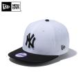 ☆ただいま15%割引中☆【メーカー取次】NEW ERA ニューエラ Youth キッズ用 9FIFTY MLB ニューヨーク ヤンキース ホワイトXブラック 11308371 キャップ