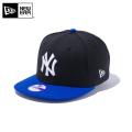 【メーカー取次】NEW ERA ニューエラ Youth キッズ用 9FIFTY MLB ニューヨーク ヤンキース ブラックXロイヤル 11308374 キャップ