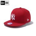 ☆ただいま15%割引中☆【メーカー取次】NEW ERA ニューエラ Youth キッズ用 9FIFTY MLB ニューヨーク ヤンキース レッドXホワイトロゴ 11308482 キャップ