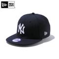 ☆ただいま15%割引中☆【メーカー取次】NEW ERA ニューエラ Youth キッズ用 9FIFTY MLB ニューヨーク ヤンキース ネイビーXホワイトロゴ 11308483 キャップ