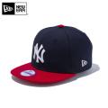 ☆ただいま20%割引中☆【メーカー取次】NEW ERA ニューエラ Youth キッズ用 9FIFTY MLB ニューヨーク ヤンキース ネイビーXレッド 11308484 キャップ