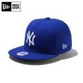 ☆ただいま20%割引中☆【メーカー取次】NEW ERA ニューエラ Youth キッズ用 9FIFTY MLB ニューヨーク ヤンキース ロイヤルXホワイトロゴ 11308485 キャップ