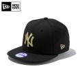 ☆ただいま20%割引中☆【メーカー取次】NEW ERA ニューエラ Youth キッズ用 9FIFTY MLB ニューヨーク ヤンキース ブラックXゴールドロゴ 11308488 キャップ