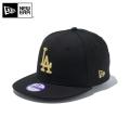 ☆ただいま20%割引中☆【メーカー取次】NEW ERA ニューエラ Youth キッズ用 9FIFTY MLB ロサンゼルス ドジャース ブラックXゴールドロゴ 11308492 キャップ