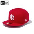 ☆20%OFFセール☆【メーカー取次】 NEW ERA ニューエラ 59FIFTY MLB ニューヨーク・ヤンキース スカーレットXホワイト 11308546 キャップ
