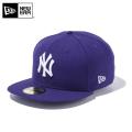 ☆20%OFFセール☆【メーカー取次】 NEW ERA ニューエラ 59FIFTY MLB ニューヨーク・ヤンキース パープルXホワイト 11308548 キャップ