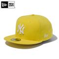 【メーカー取次】 NEW ERA ニューエラ 59FIFTY MLB ニューヨーク・ヤンキース サイバーイエローXホワイト 11308555 キャップ