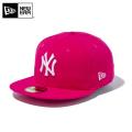 【メーカー取次】 NEW ERA ニューエラ 59FIFTY MLB ニューヨーク・ヤンキース ブライトローズXホワイト 11308561 キャップ