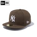 【メーカー取次】 NEW ERA ニューエラ 59FIFTY MLB ニューヨーク・ヤンキース ブラウンXホワイト 11308562 キャップ