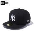 【メーカー取次】 NEW ERA ニューエラ 59FIFTY MLB ニューヨーク・ヤンキース ブラックXホワイト 11308564 キャップ