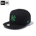 【メーカー取次】 NEW ERA ニューエラ 59FIFTY MLB ニューヨーク・ヤンキース ブラックXシャムロック 11308566 キャップ