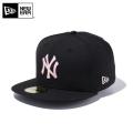 【メーカー取次】 NEW ERA ニューエラ 59FIFTY MLB ニューヨーク・ヤンキース ブラックXピンク 11308568 キャップ