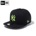 【メーカー取次】 NEW ERA ニューエラ 59FIFTY MLB ニューヨーク・ヤンキース ブラックXネオングリーン 11308570 キャップ