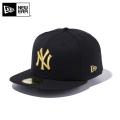 【メーカー取次】 NEW ERA ニューエラ 59FIFTY MLB ニューヨーク・ヤンキース ブラックXゴールド 11308572 キャップ