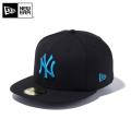【メーカー取次】 NEW ERA ニューエラ 59FIFTY MLB ニューヨーク・ヤンキース ブラックXブライトターコイズ 11308575 キャップ