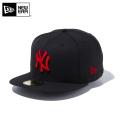 【メーカー取次】 NEW ERA ニューエラ 59FIFTY MLB ニューヨーク・ヤンキース ブラックXレッド 11308578 キャップ