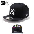 ☆20%OFF割引中☆【メーカー取次】NEW ERA ニューエラ Kid's キッズ用 59FIFTY MLB UNDERVISOR ニューヨーク ヤンキース ブラックXホワイト/マルチ NEW YORK 11310392 キャップ 帽子