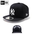 ☆20%OFF割引中☆【メーカー取次】NEW ERA ニューエラ Kid's キッズ用 59FIFTY MLB UNDERVISOR ニューヨーク ヤンキース ブラックXホワイトロゴ NEW YORK 11310393 キャップ 帽子