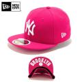 ☆ただいま20%割引中☆【メーカー取次】NEW ERA ニューエラ Kid's キッズ用 59FIFTY MLB UNDERVISOR ニューヨーク ヤンキース ピンクXホワイトロゴ BROOKLYN 11310396 キャップ