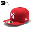 ☆20%OFF割引中☆【メーカー取次】NEW ERA ニューエラ Kid's キッズ用 59FIFTY MLB ニューヨーク ヤンキース レッドXホワイトロゴ 11310401 キャップ