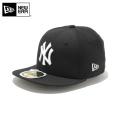 ☆ただいま20%OFF割引中☆【メーカー取次】NEW ERA ニューエラ Kid's キッズ用 59FIFTY MLB ニューヨーク ヤンキース ブラックXホワイトロゴ 12336578 キャップ 帽子