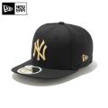 ☆ただいま20%OFF割引中☆【メーカー取次】NEW ERA ニューエラ Kid's キッズ用 59FIFTY MLB ニューヨーク ヤンキース ブラックXゴールドロゴ 12336579 キャップ 帽子