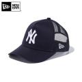 ☆20%OFF割引中☆【メーカー取次】NEW ERA ニューエラ Youth キッズ用 9FORTY A-Frame Trucker ニューヨーク ヤンキース ネイビーXホワイトロゴ 11433929 キャップ 帽子