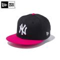 ☆今だけ20%OFF割引中☆【メーカー取次】NEW ERA ニューエラ Youth キッズ用 9FIFTY MLB ニューヨーク ヤンキース ブラックXピンク 11433966 キャップ