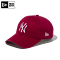 【メーカー取次】 NEW ERA ニューエラ 9TWENTY Cloth Strap ウォッシュドコットン ニューヨーク・ヤンキース カーディナル 11434006 キャップ