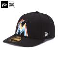 【メーカー取次】 NEW ERA ニューエラ LP 59FIFTY MLB On-Field マイアミ・マーリンズ ゲーム 11449297 キャップ
