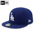 ☆15%OFFセール☆【メーカー取次】 NEW ERA ニューエラ 59FIFTY MLB On-Field ロサンゼルス・ドジャース ブルー 11449367 キャップ